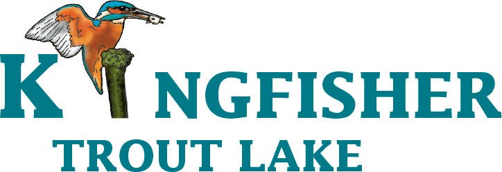 Kingfisher Trout Lake Logo